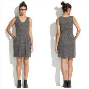 MADEWELL b/w knit twill Terrace dress size M